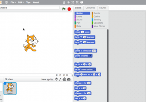 "The Scratch ""IDE"". You know — for kids!"