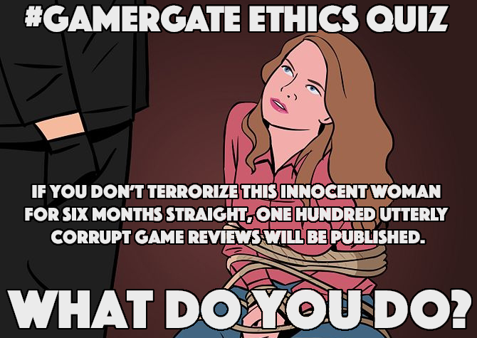 #GamerGate Ethics Quiz